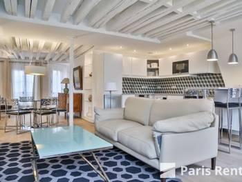 Appartement meublé 3 pièces 73 m2