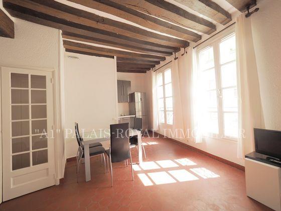 Location appartement meublé 2 pièces 44,17 m2 à Paris 1er