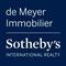 DE MEYER IMMOBILIER - SOTHEBY'S INTERNATIONAL