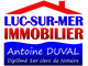 agence immobili�re Luc Sur Mer Immobilier
