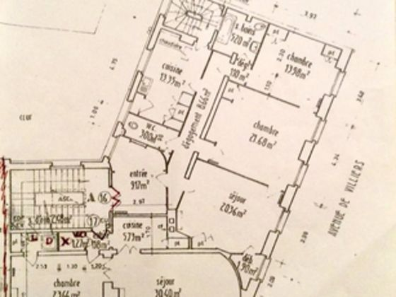Vente appartement 155 m2