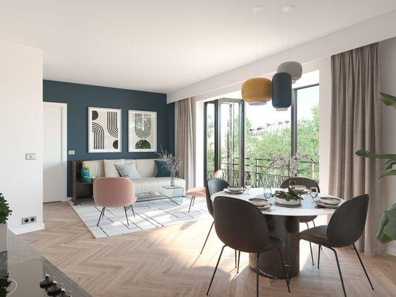 Vente appartement 2 pièces 42,7 m2