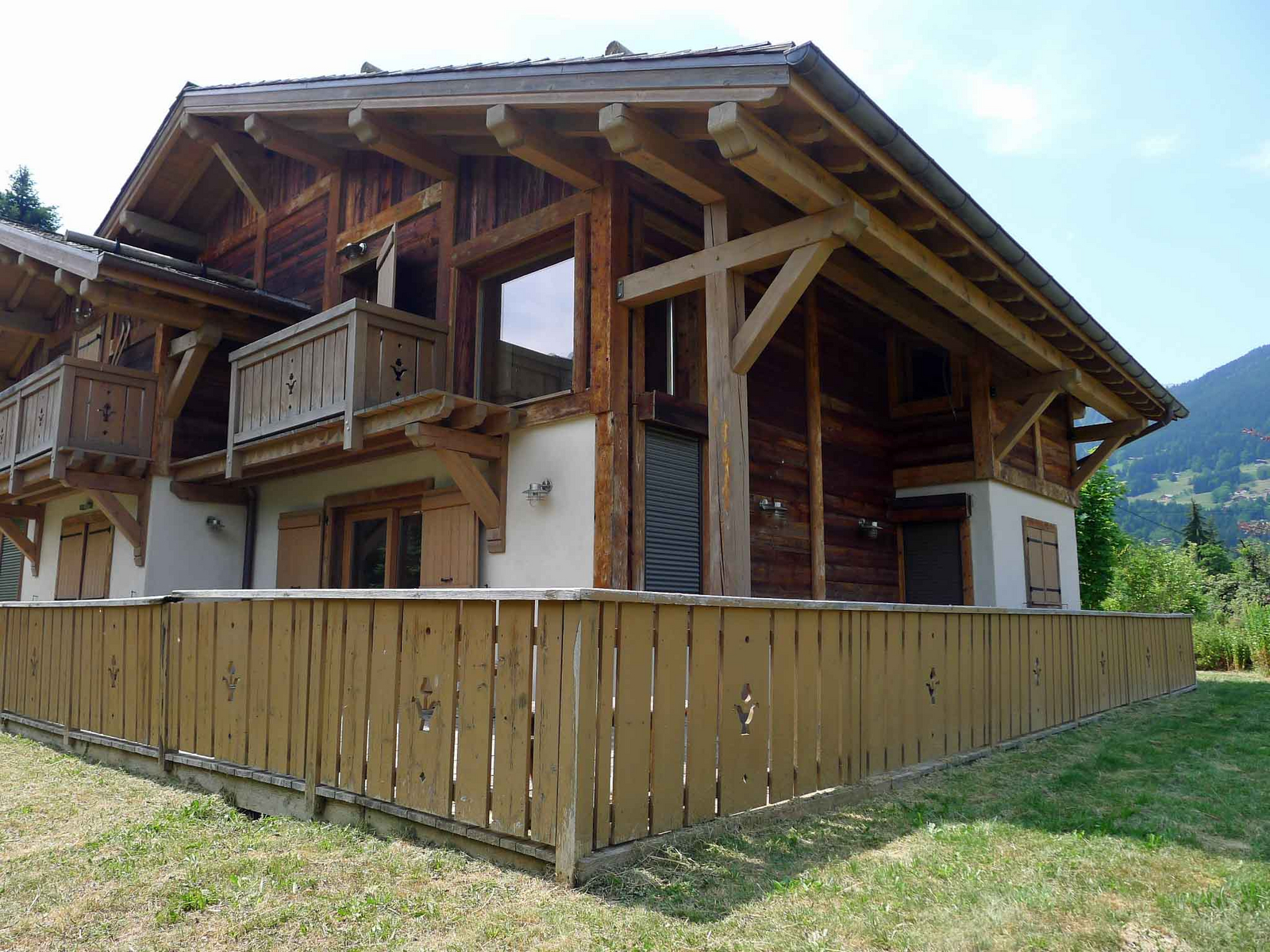 Vente chalet 5 pices 78 m 498000 sallanches 74 for Combloux piscine