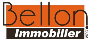 Logo de BELLON IMMOBILIER