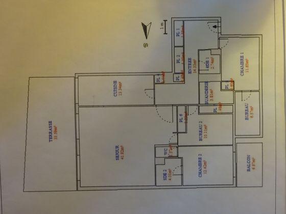 Vente appartement 5 pièces 129 m2