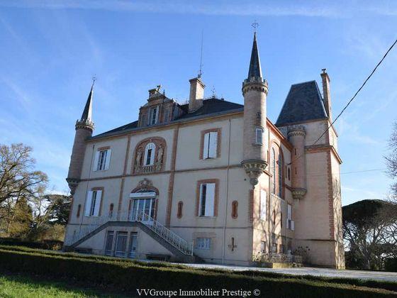 Vente château 24 pièces 1000 m2