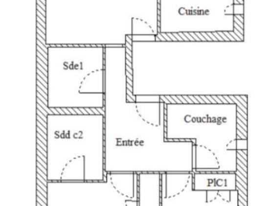 Vente appartement 65 m2