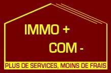 Logo de IMMO + COM -