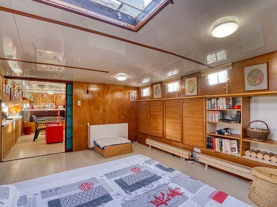 Vente péniche 3 pièces 80 m2