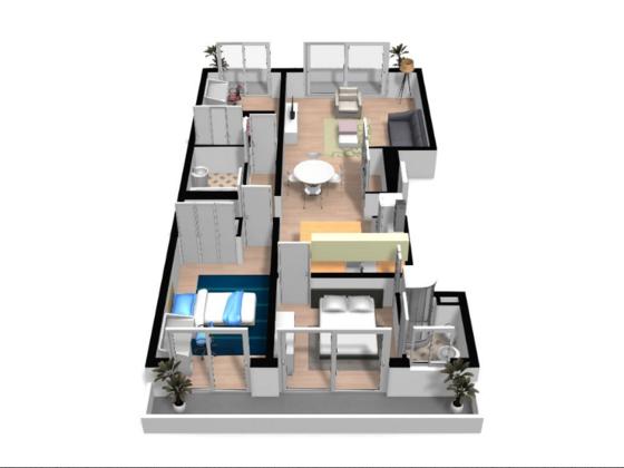 Vente appartement 4 pièces 81,45 m2