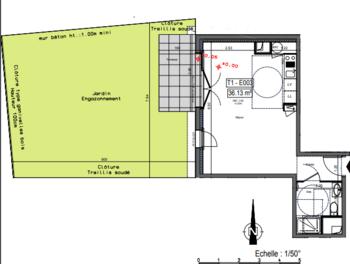 Studio 36,86 m2